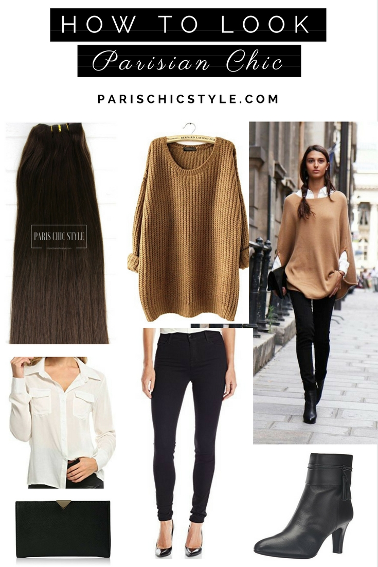 HOW TO LOOK PARISIAN CHIC Paris Chic Style 1