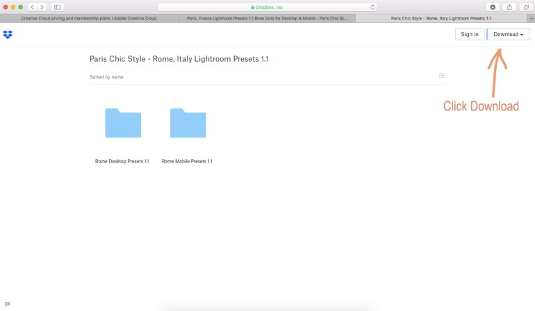 Download Paris Chic Style Lightroom Presets Profiles