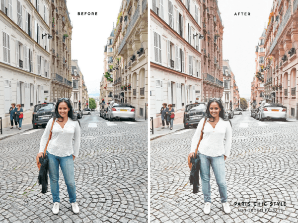 Paris France Lightroom Presets 1.1 Rose Gold Paris Chic Style Blog Travel Lifestyle Instagram Before & After 1
