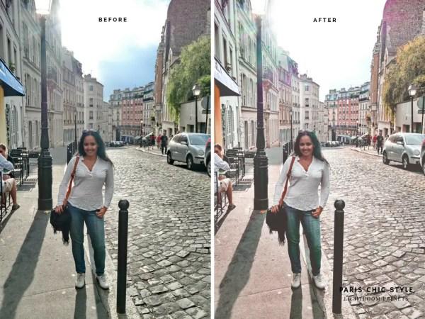 Paris France Lightroom Presets 1.1 Rose Gold Paris Chic Style Blog Travel Lifestyle Instagram Before & After 7
