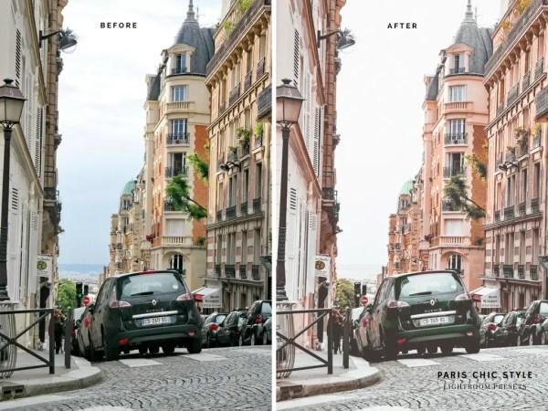 Paris France Lightroom Presets 1.1 Rose Gold Paris Chic Style Blog Travel Lifestyle Instagram Before & After 8
