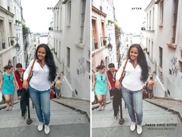 Paris France Lightroom Presets 1.1 Rose Gold Paris Chic Style Blog Travel Lifestyle Instagram Before & After 9