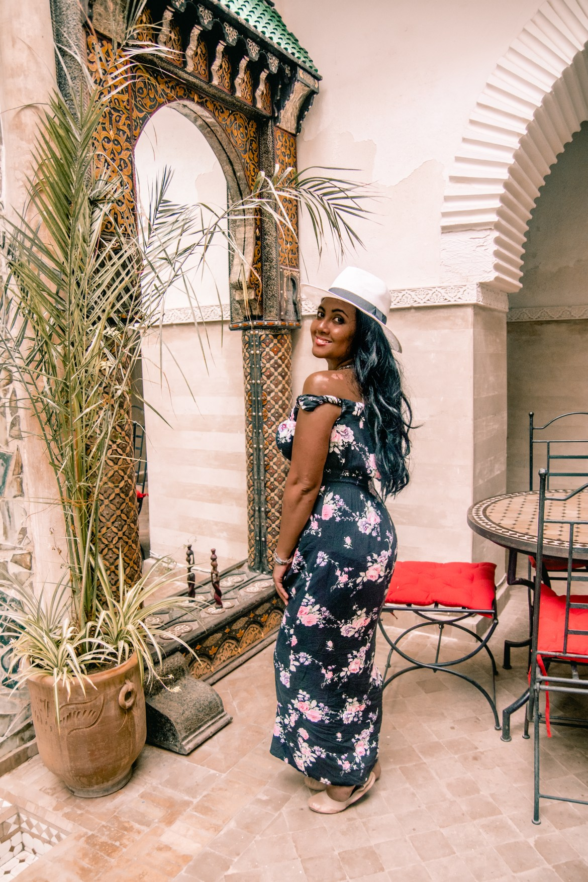 Paris Chic Style OTTD Fashion Travel Blog What To Wear In Morocco Marrakech-9