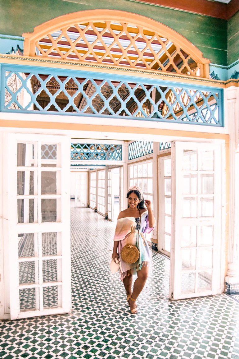 What To Wear In Morocco Marrakech Kaftan Dress Paris Chic Style 3