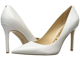 What Color Shoes To Wear With A Red Dress White Shoes Sam Edelman Hazel Paris Chic Style 10