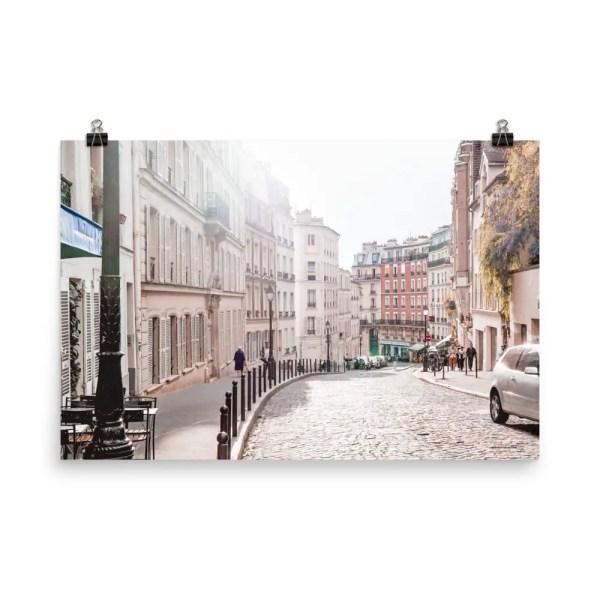 mockup_Transparent_Transparent_montmartre_Paris_wall_art_print_24x36