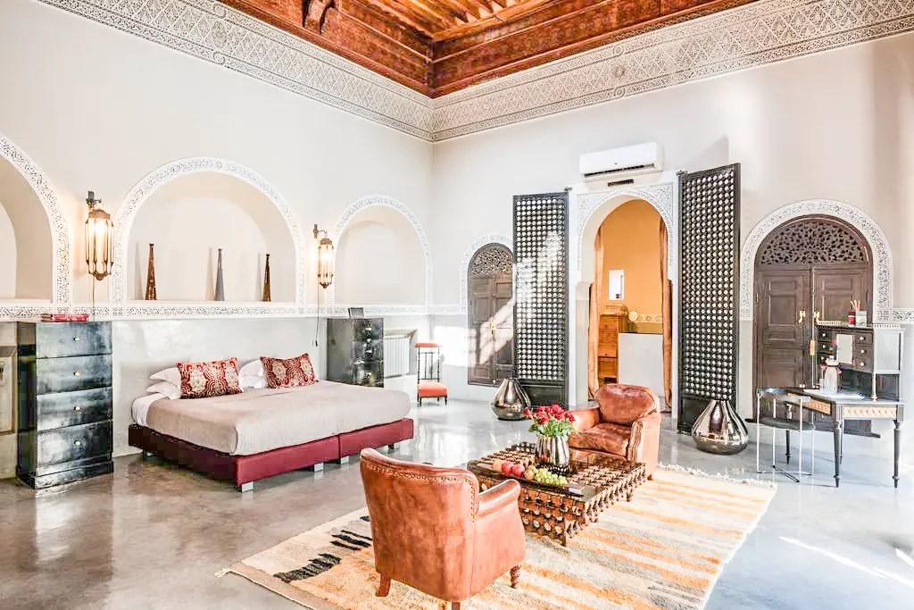 paris chic style best riads in marrakech morocco riad 72 2