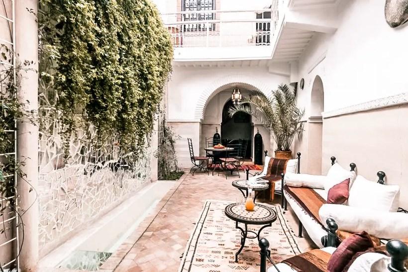 Paris Chic Style Best Riads In Marrakech Morocco Riad El Bellar 10