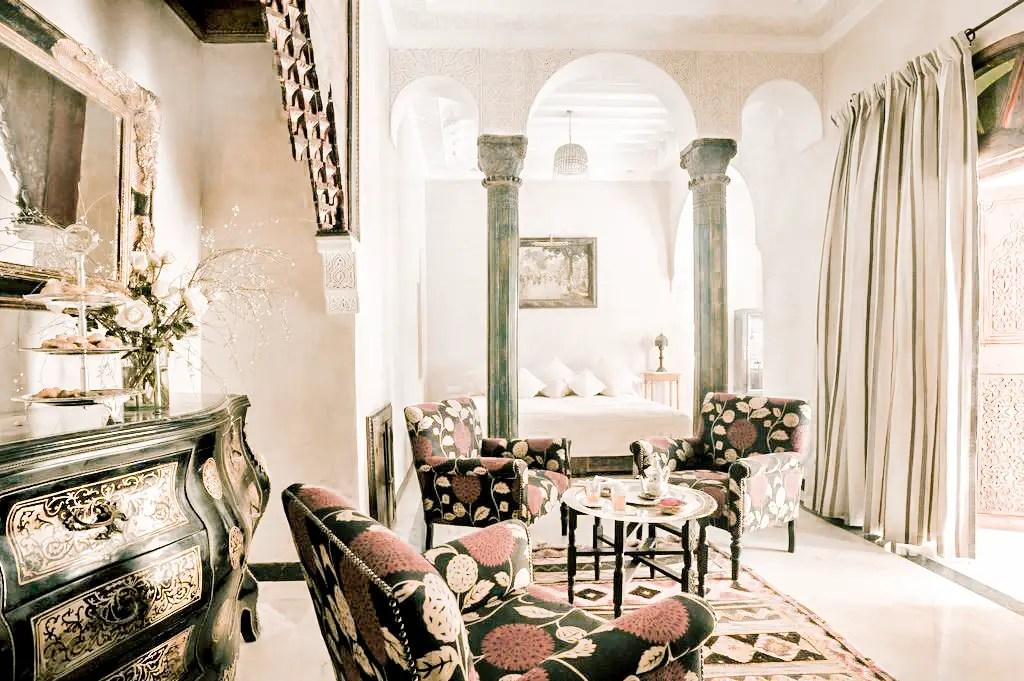 Paris Chic Style Best Riads In Marrakech Morocco La Sultana Marrakech 5