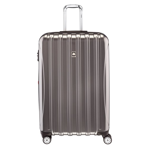 Paris Chic Style Best Travel Luggage Delsey Paris Checked Lightweight Suitcase Stylish Durable