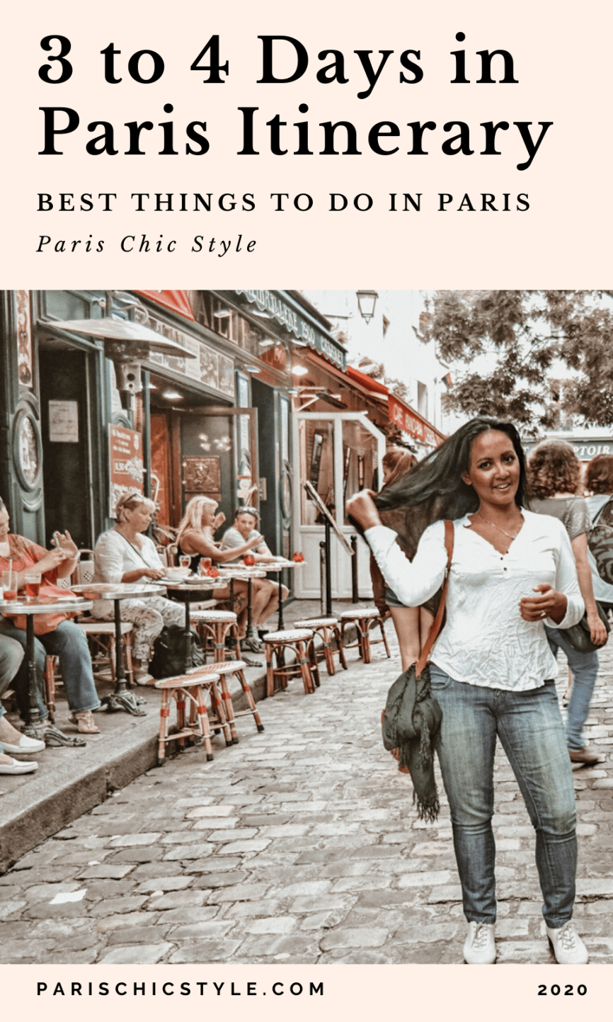 Marjolyn Lago Marj Paris Chic Style 3 to 4 days in Paris Itinerary travel guide