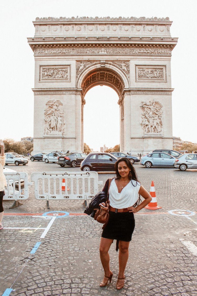 Marjolyn Lago Marj 3 to 4 days in Paris Itinerary Best Things To Do In Paris Chic Style Fashion Travel Blog Arc de Triomphe