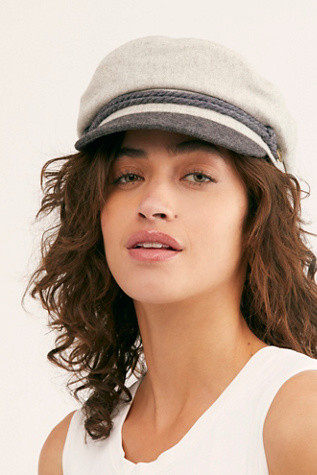 French Style Fidler Cap Hat Paris Chic Style