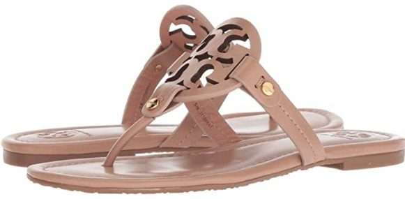 Most Comfortable Shoes For Women Sandals Stylish Walking Shoes For Travel Work Paris Chic Style Tory Burch Miller Flip Flop