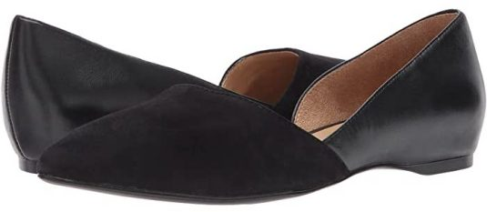 Travel Shoes Most Comfortable Ballet Flats For Walking Work Streetstyle Parisian Ballet Flats Paris Chic Style Best Ballet Flats For Walking French Shoes Naturalizer Comfortable Dressy Flats 8