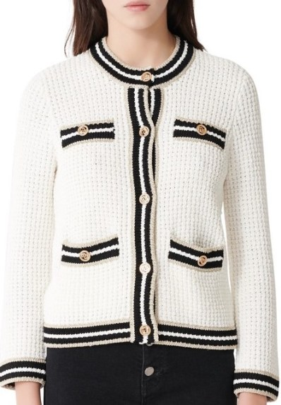 French Clothing Brand Maje French Sweater Parisian Style Paris Chic Style