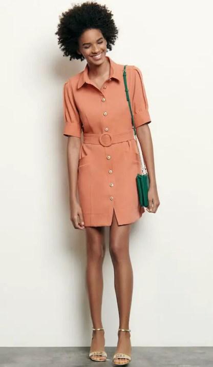 French Clothing Fashion Brand Parisian Style Dress Paris Chic Style