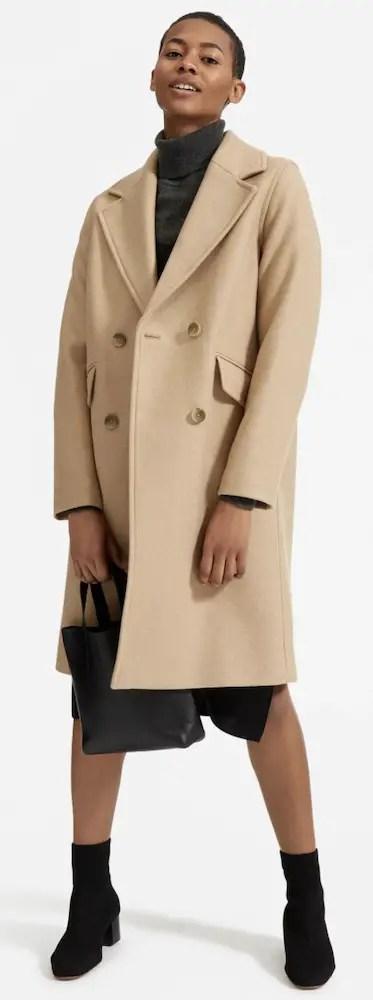 Best Winter Coats For Women Warm Jackets Parisian Style Italian Wool Coat Everlane