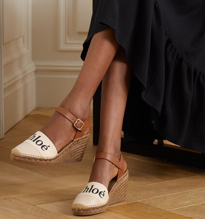 Chloe Parisian Espadrilles For Summer Spring Walking Travel Everyday Shoes Paris Chic Style