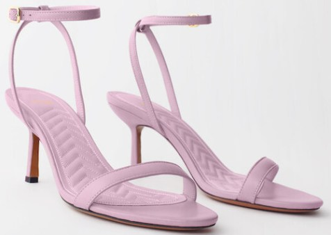 Maje Parisian High Heel Sandals For Parties Weddings Events Work Walking Travel Street Style Paris Chic Style