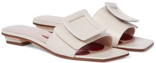 Roger Vivier French Sandals For Summer Walking Travel Work Everyday Wear Parisian Street Style Shoes Paris Chic Style