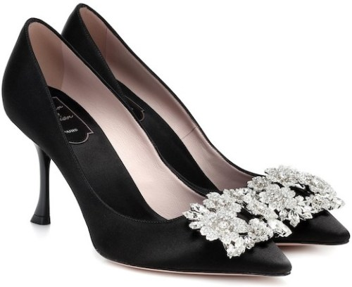 Roger Vivier French Shoes Brand Parisian Shoes French Heels Black French Girls Paris Chic Style