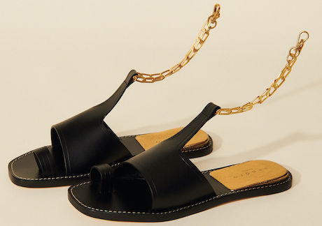 Sandro Parisian Shoes Sandals For Summer Walking Travel Sightseeing Everyday Shoes Paris Chic Style