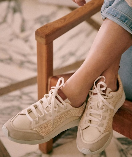 Sezane Paris While French Shoes Sneakers For Women For Walking Travel Sightseeing Street Parisian Style Paris Chic Style