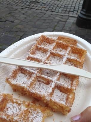 Waffles in Brussels