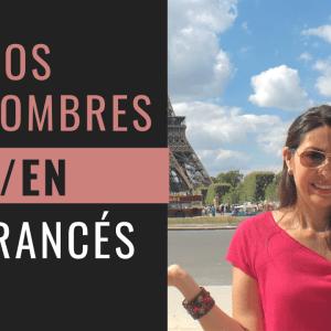 Los pronombres y en en francés