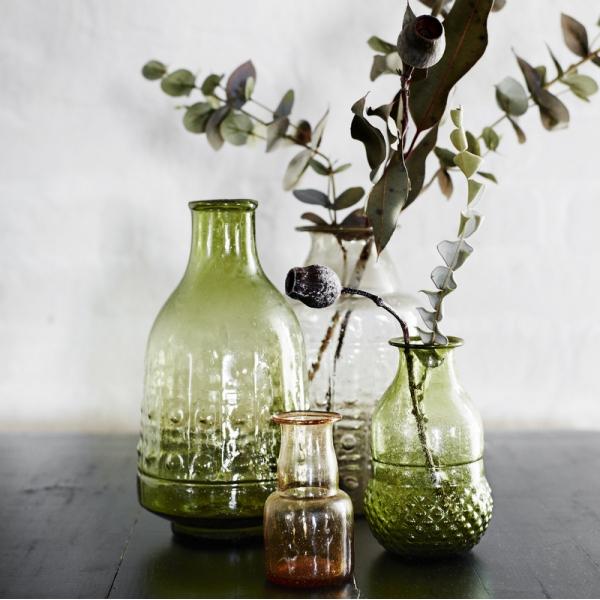Thème-mariage-vintage-vases-verre