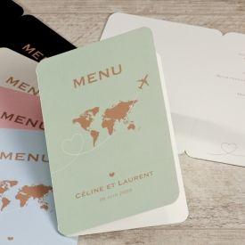 Thème-mariage-voyage-menu