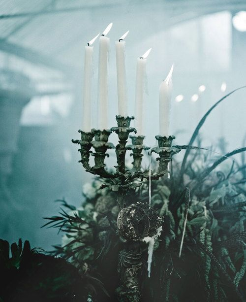 Mariage-gothique-chandelier