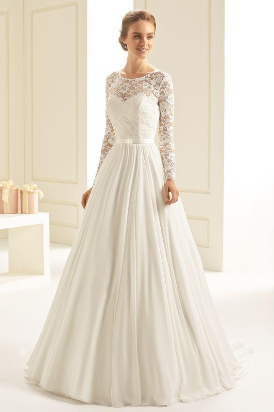 robe-de-mariée-hiver-manches-longues