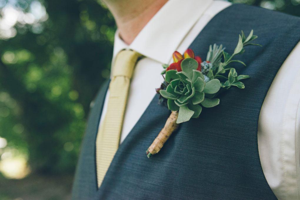 boutonnière-mariage