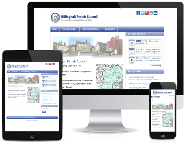Parish Council Websites - Killinghall PC