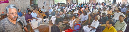 ജാതി – മതം വംശം : ചരിത്രവും ശാസ്ത്രവും  ആദ്യ സെമിനാര് തൃശ്ശൂരില് വച്ച് നടന്നു