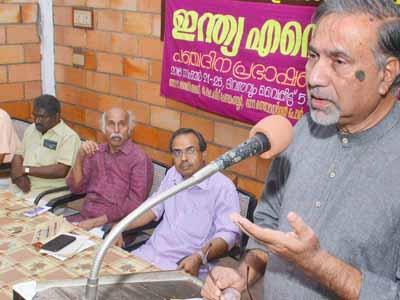 Sasthra Sahithya parishath sangadipicha India ente Rajam enna panja Prabashanathil Indian Janadipthyam enna vishayathil Dr. PK maikil Tharakan prabashanam nadathunnu