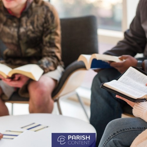 Young Adults Reading Bible Small Group