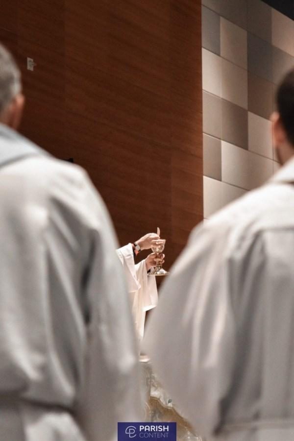 Communion During Mass
