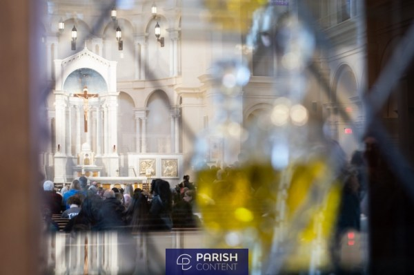 Cathedral During Mass