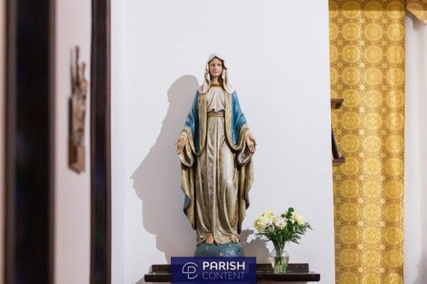 Statue In Church