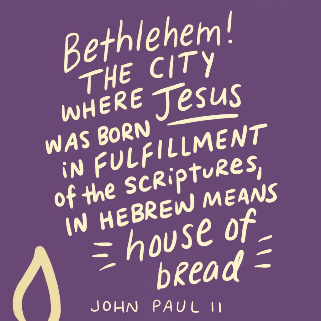 Do You Know What Quot Bethlehem Quot Means