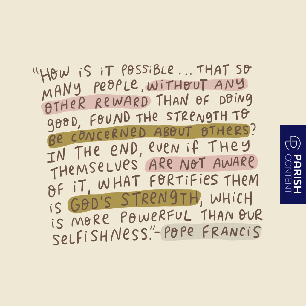 Our Selfishness