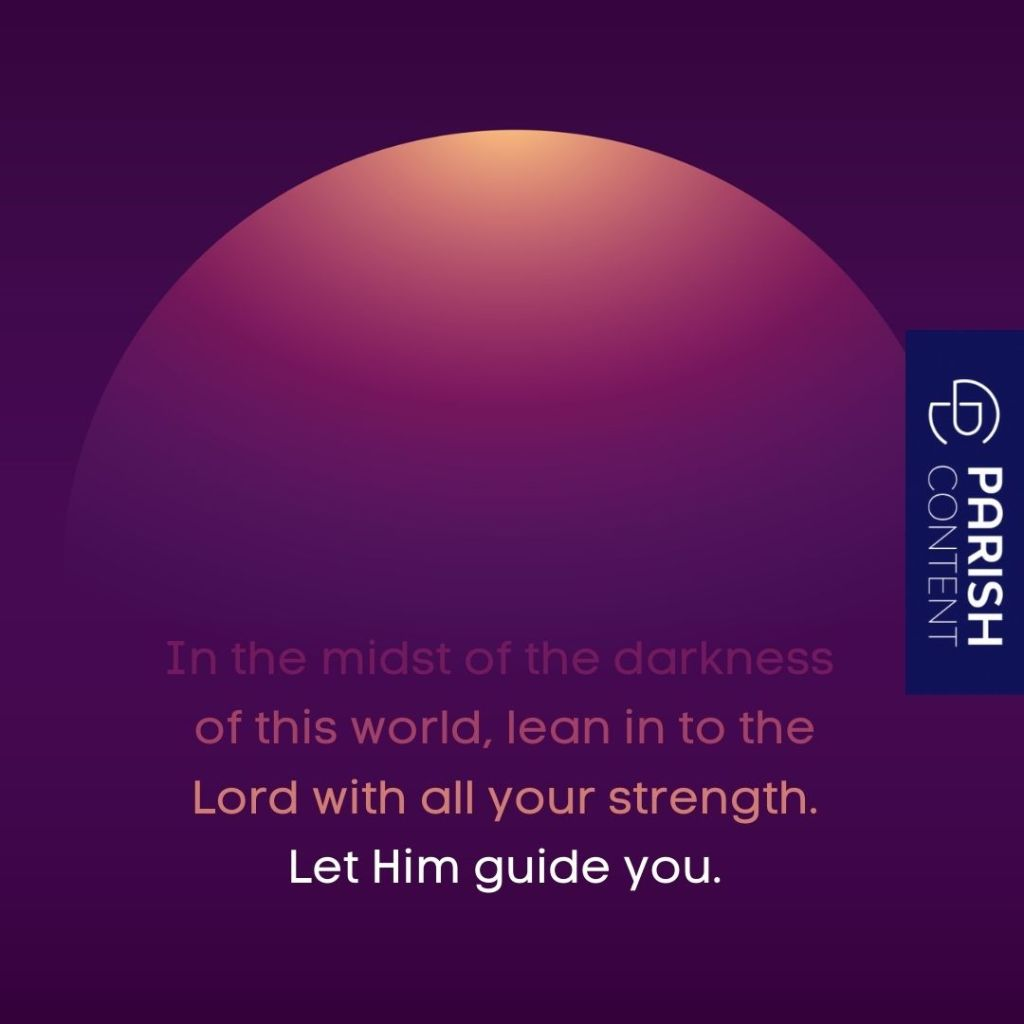 Let Him Guide You