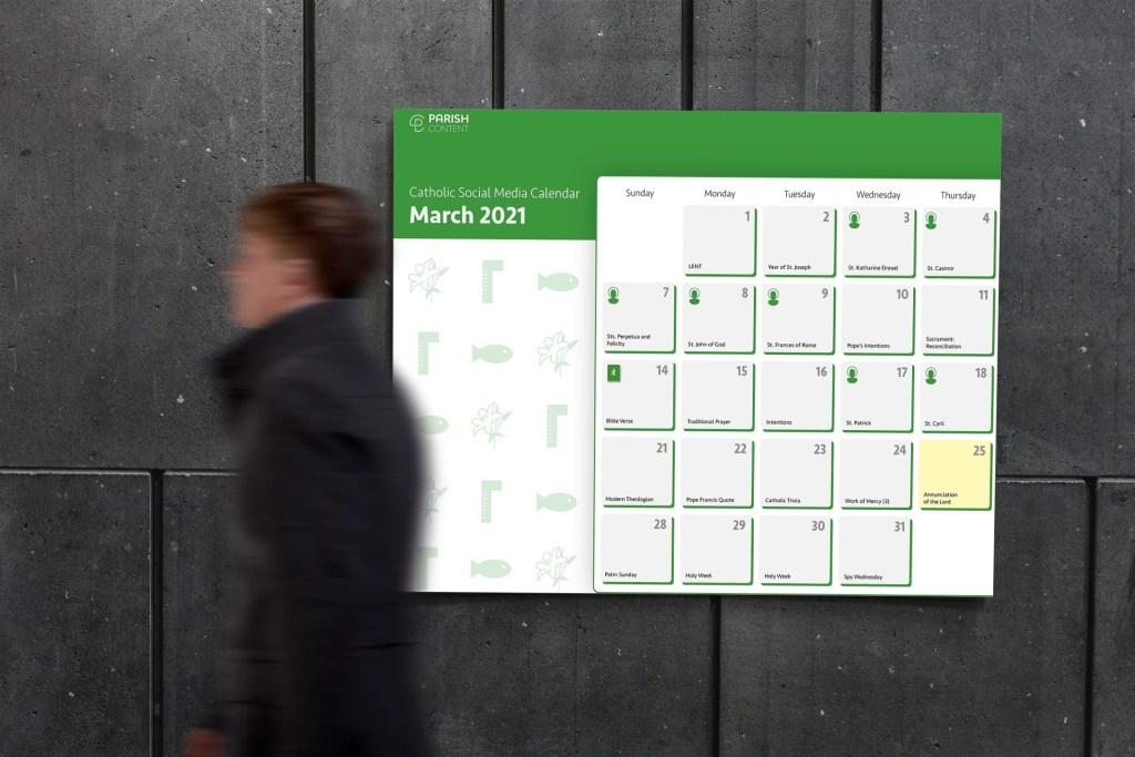 March Content Calendar