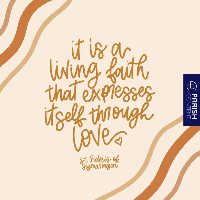 Socialpost A Living Faith