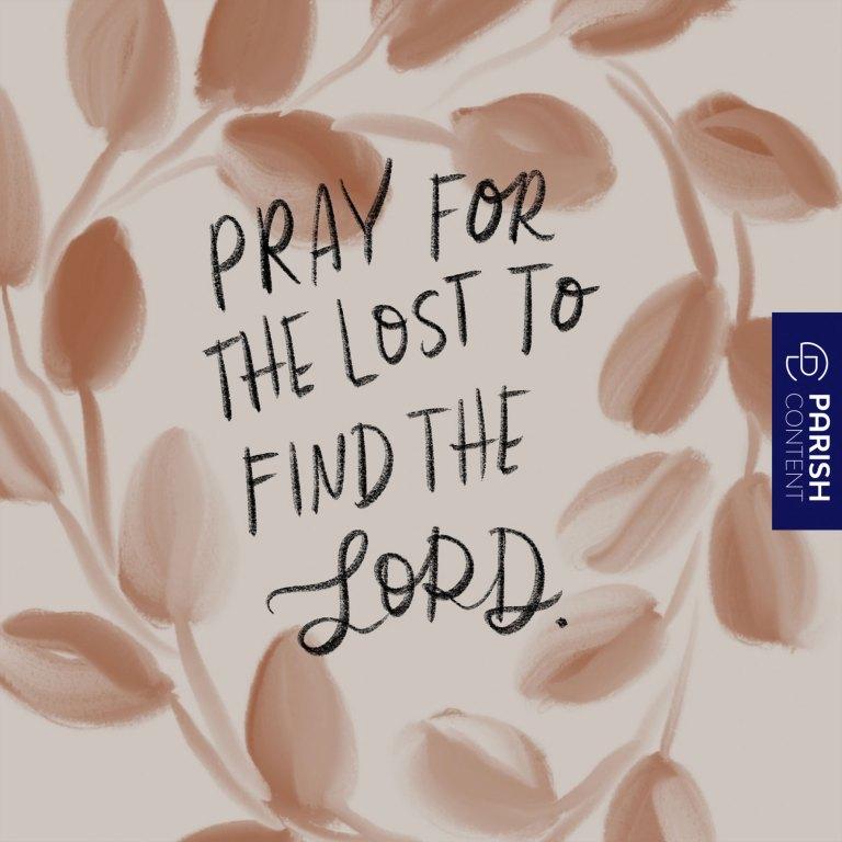 Socialpost Pray For The Lost