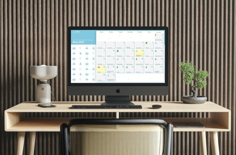 May Social Media Content Calendar