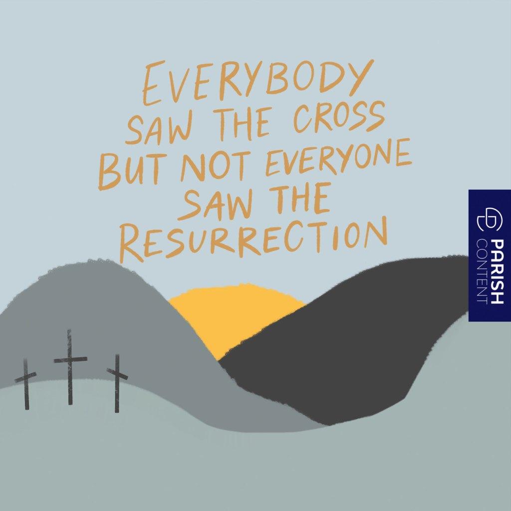 Everybody Saw The Cross